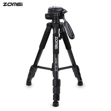Big discount Zomei Q111 56 Inch Lightweight Aluminum Tripod Fast Transitions Between Shots Adjustable-Height Legs And Rubber Feet With Bag