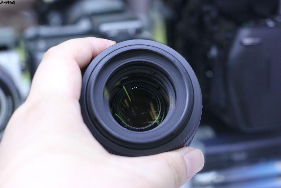 VERWENDET Nikon 55 200mm f/4 5,6G ED WENN AF S DX VR Nikkor Zoom Objektiv [Vibration Reduktion]