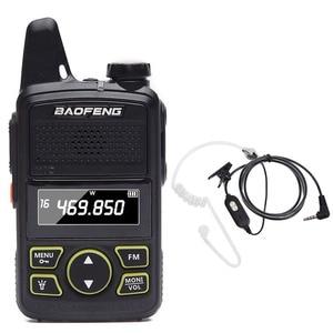 Image 1 - BAOFENG BF T1 MINI Kids Woman 2 Way Radio Easy To Carry UHF 400 470mhz BFT1 Handheld Walkie Talkie BF T1 Radio