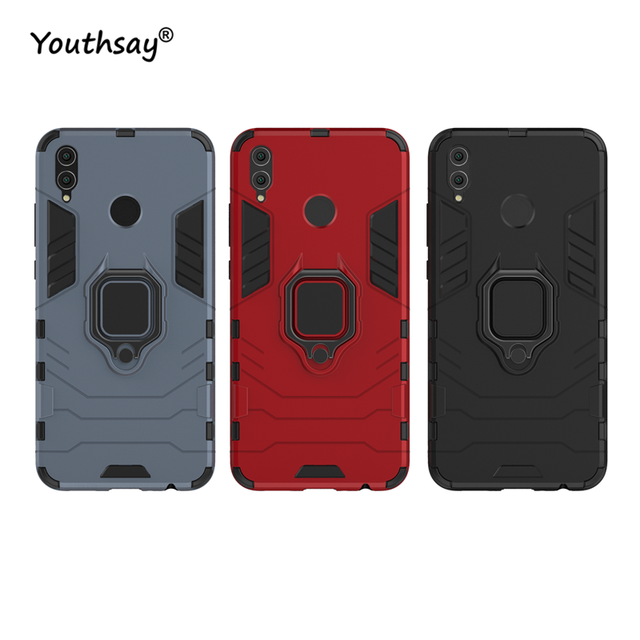 buy popular ab8b9 6b2ad US $2.85 32% OFF|For Cover Huawei Honor 8X Case Magnetic Finger Ring  Kickstand Hard Phone Case For Huawei Honor 8X Cover For Honor 8X Fundas-in  Fitted ...