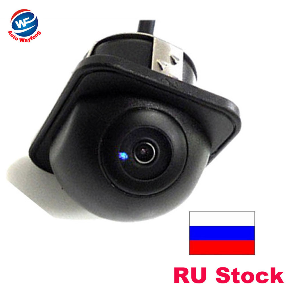 For 170 Wide Night Vision Car Rearview Bakfra Kamera Front Kamera Viewside Kamera Omvendt Backup Fargekamera