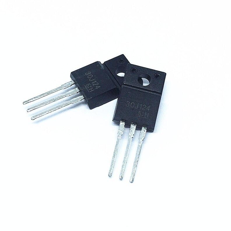 10pcs  30J124 GT30J124 Triode IGBT Tube Flasher Dedicated TO220F 200A/600V