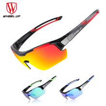 Wheel up Polarized Cycling Glasses 3 Group Lens Men Mountain Bike Goggles Sport MTB Bicycle Sunglasses Ciclismo Cycling Glasses