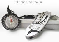 Top Nice Jeep Knife With Compass Outdoor Use Tool Kit For Camping Handing Making Sports In