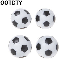 2pcs Resin Foosball Table Soccer Ball Indoor Games Fussball Football 32mm 36mm недорого
