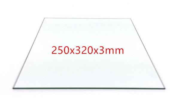 SWMAKER BOROSILICATE GLASS 250x320x3mm for mendelmax 1 5 2 3 3D printer accessory