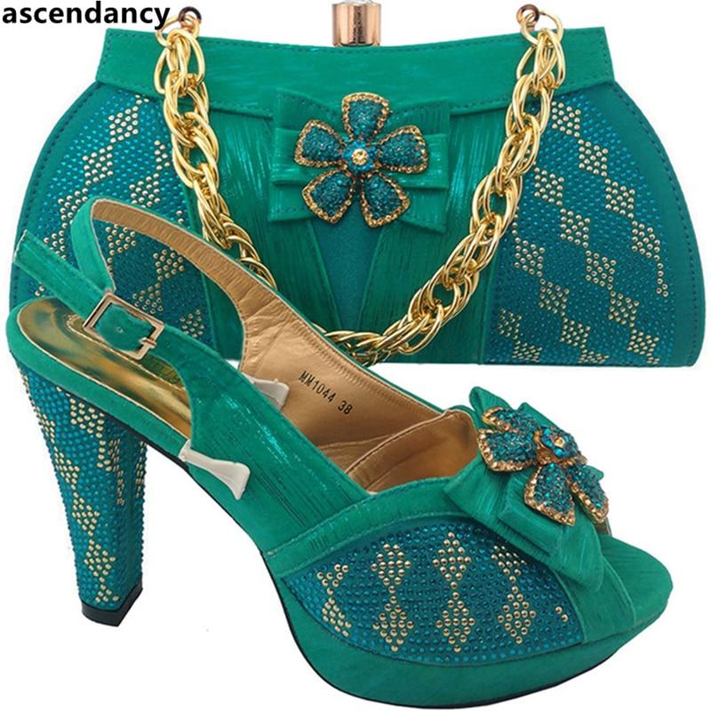 Et Italien Femmes lemon teal Italie Africaine Ensembles Sacs Chaussures Assorties En Dans pourpre Niegrian Partie argent Green Bleu Ensemble rouge Sac Couleur Violet or Iwx8YY