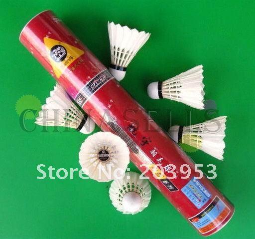 in stock hangyu badminton shuttlecocks durable NO.5 shuttlecock badminton ball high quality durable flight:A