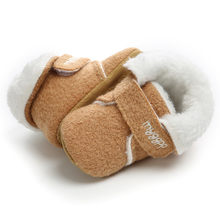 Newborn Baby Girl Boy Shoes Toddler Fashion Cotton Kids Soft Warm Shoes Baby Moccasins Children Footwear Baby Shoes(China)