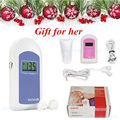 Factory FDA USA Seller Pocket Fetal Doppler,Baby Heart Beat Monitor+Earphone+Gel