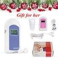 Factory FDA USA Seller Pocket Fetal Doppler,Baby Heart Beat Monitor+Earphone+Gel