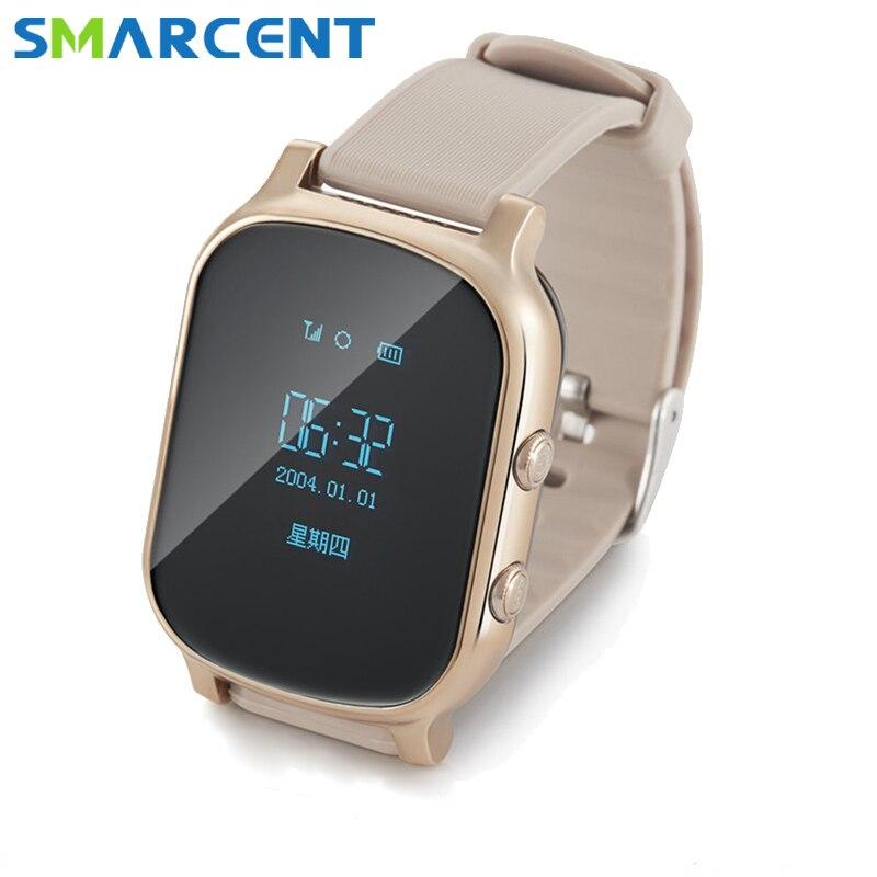 T58 baby GPS tracker phone watch kids Children's gps bracelet google sos gps bracelet personal tracker gps locator smart watch