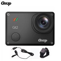 Gitup Git2 Pro 16MP Novatek 96660 1080P 2K Sports Action Camera WiFi Mini Outdoor Camcorder Microphone