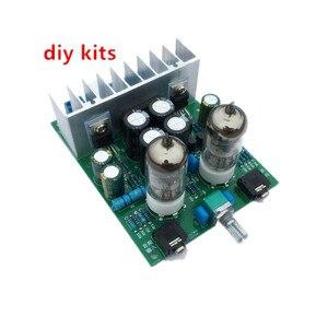 Image 1 - Diy kits HIFI 6J1 tube amplifier Headphones amplifiers LM1875T power amplifier Board 30W preamp bile buffer