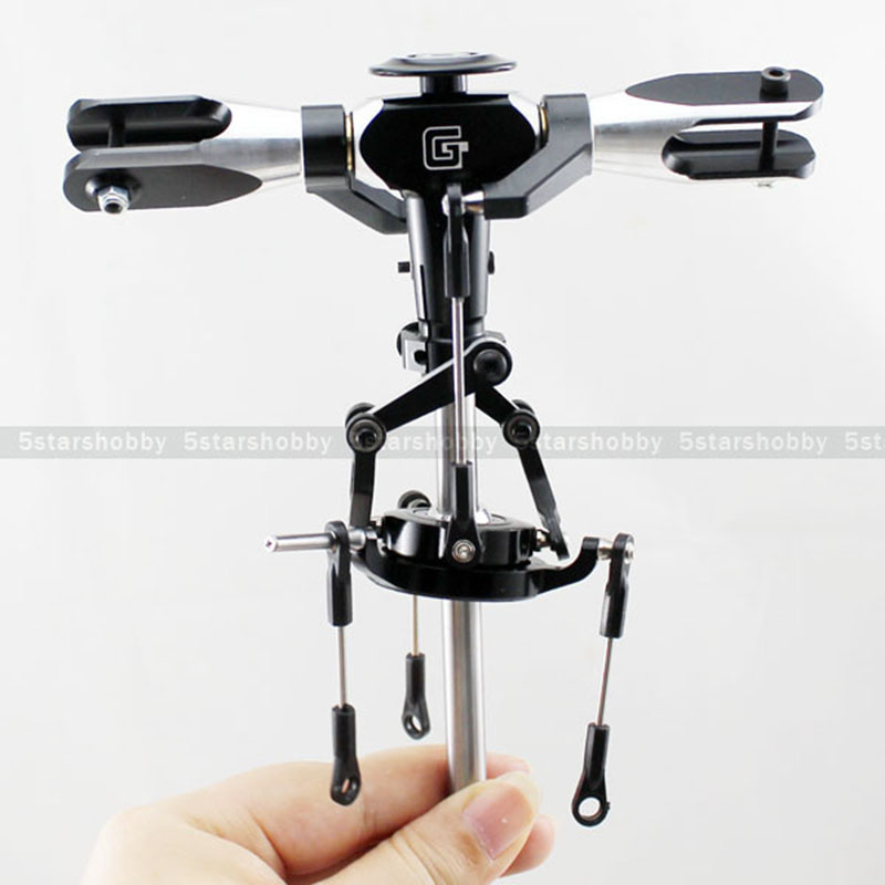 GARTT 500 Flybarless Metal Main Rotor Head for T-rex 500 Helicopter цена и фото