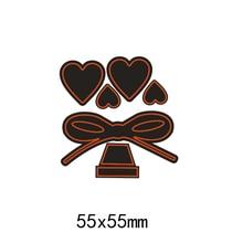 Metal Cutting Dies Heart Gift for DIY Box  Scrapbook Album Embossing Paper Cut Creative Craft Stamps New
