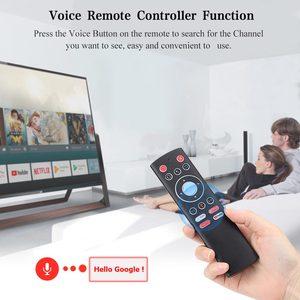 Image 5 - 미니 2.4G 무선 음성 에어 마우스 자이로 원격 제어 IR 학습 안드로이드 TV 박스 원 키 액세스 기능