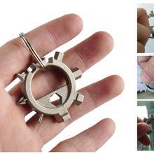Многофункциональный открывалка Многофункциональный инструмент велосипедный Цикл Отвертка многоцелевой ремонт бутылок велосипед
