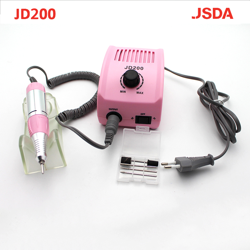 цена на JD200 Micro precision Water Jet Grinding Machine, 35w 30000rpm Electric Nail Art Drill Machine Manicure and Pedicure
