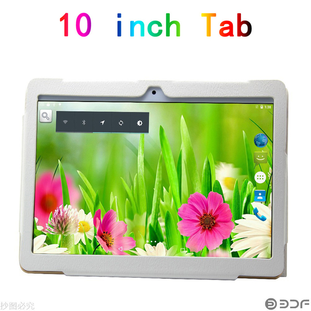 Оригинальный черный и белый цвет Tabltte Кожаный чехол для 10 дюймов планшет Четырехъядерных Процессоров 2 ГБ 16 ГБ Tablet pc android 5.1