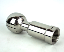 Free shipping 1/2'' - 2'' Female Thread CIP Tank Cleaning Rotary Spray Ball SS 304