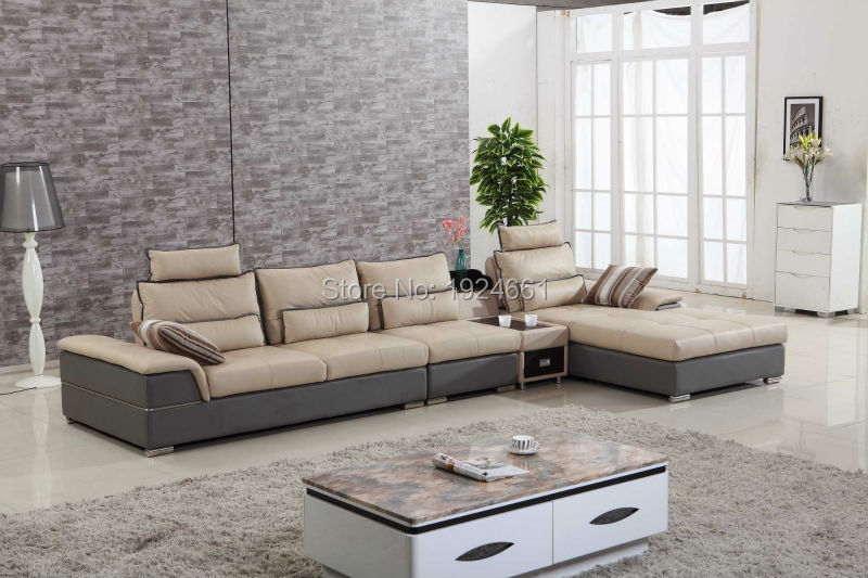 Good Whole Top Leather Sofa From China Part 11