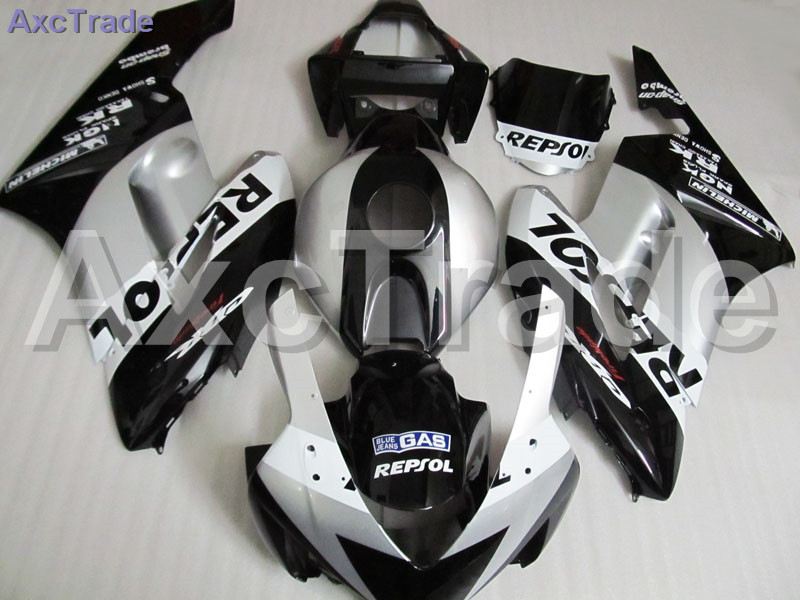 Moto Motorcycle Fairing Kit For Honda CBR1000RR CBR1000 CBR 1000 2004 2005 04 05 ABS Plastic Fairings fairing-kit Black C232 arashi motorcycle radiator grille protective cover grill guard protector for 2008 2009 2010 2011 honda cbr1000rr cbr 1000 rr