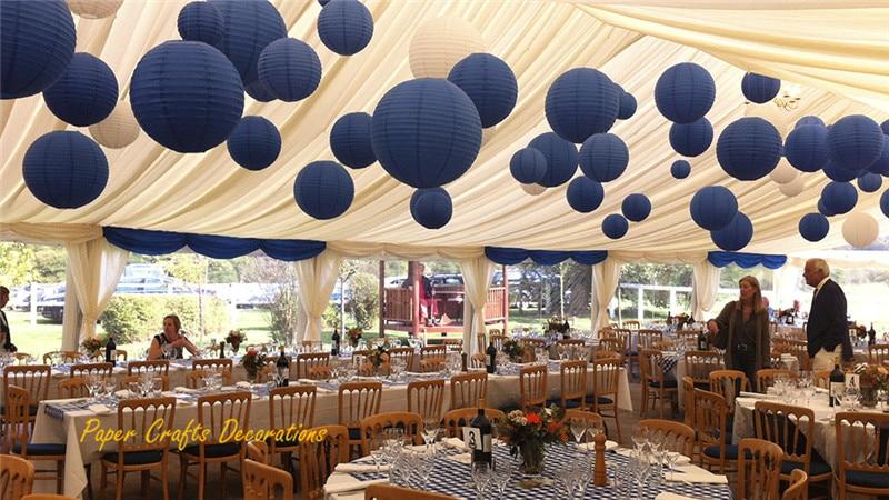 Hanging Paper Lanterns Wedding - Unique Wedding Ideas