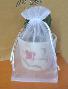 """Image 2 - Organza Drawstring Pouch 40x60cm (15 6/8""""x23 4/8"""" ) pack of 50 Larger Gift Packaging Storage Bag"""