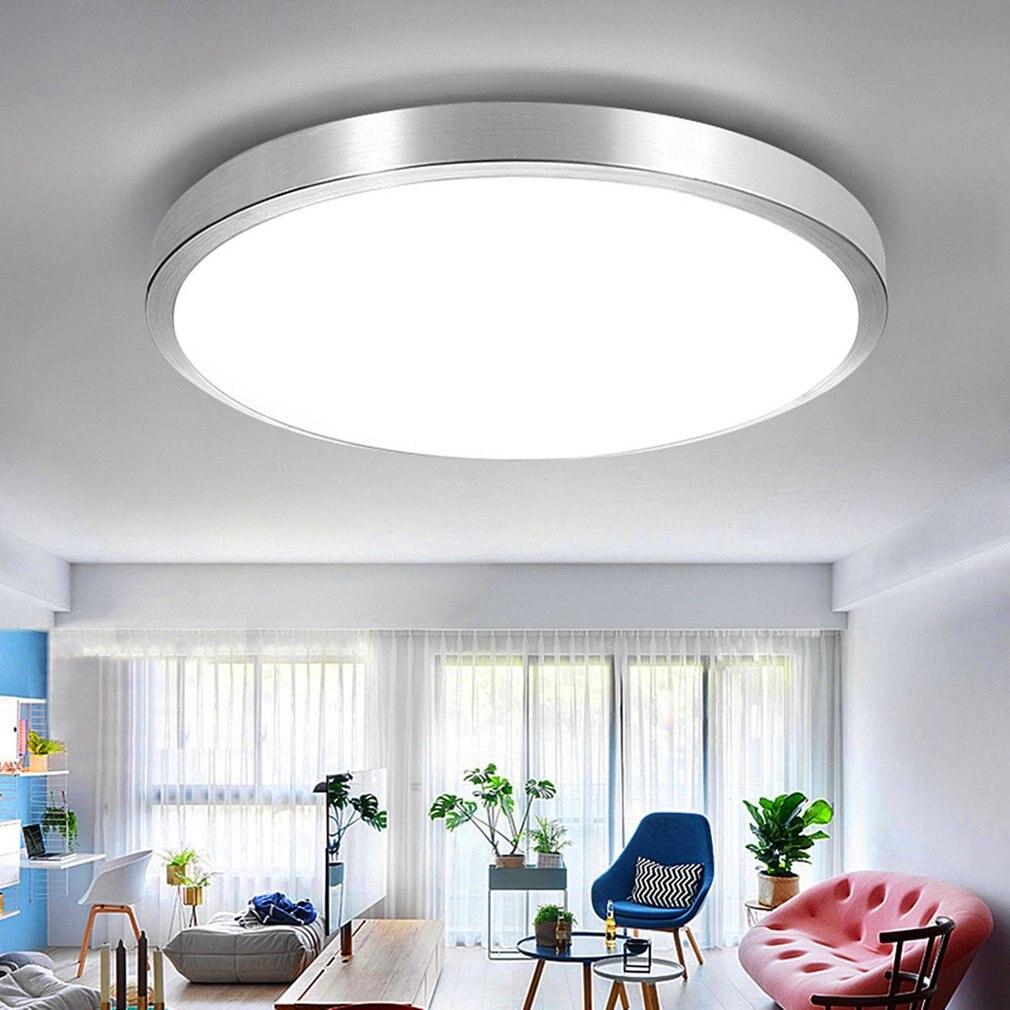 LED Modern Ceiling Light Flush Mount Bedroom Living Room Lighting Lamp 12/27W lustre flush mount led modern crystal ceiling lamp lights with 1 light for living room lighting free shipping