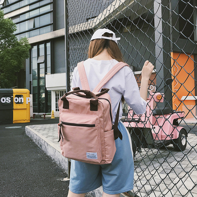 Korean Style School Travel Backpack For Women 2