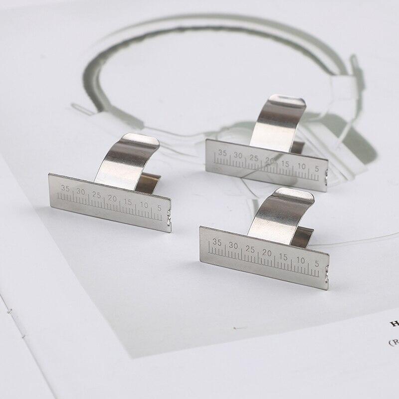 Stainless Steel 35mm Gauge Dental Finger Ruler Span