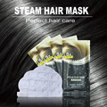 2pcs/lot Automatic Heating Steam Hair Mask Keratin Argan Oil Treatment Hair Coarse, Dry, Split Ends 5x Repair Free Shipping