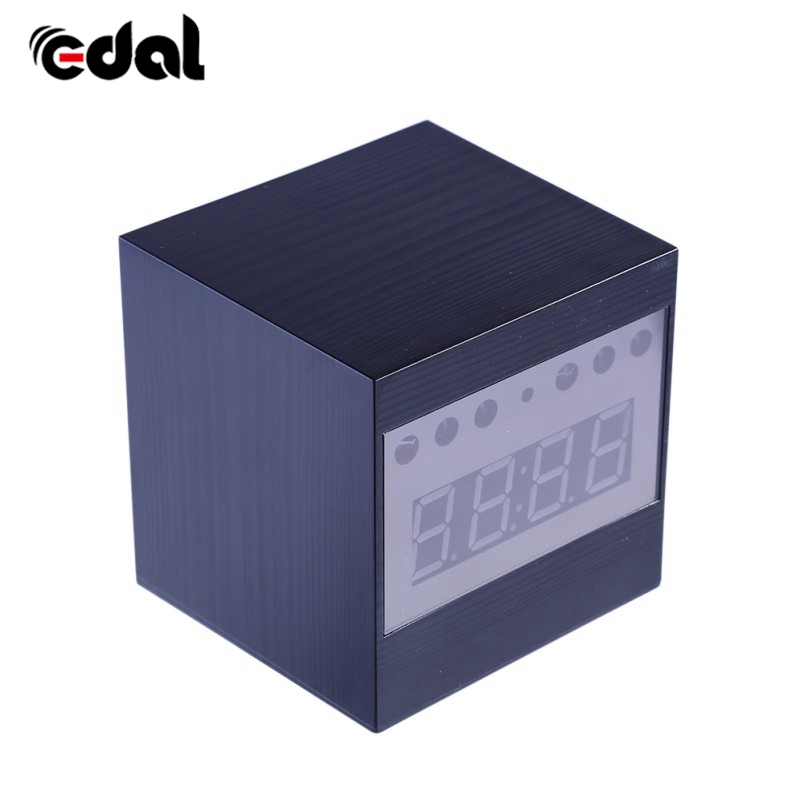 Fashion 1080P Wireless Camera Alarm Clock Mini Camera Home Security Surveillance Camera Recorder Night Vision Remote Control