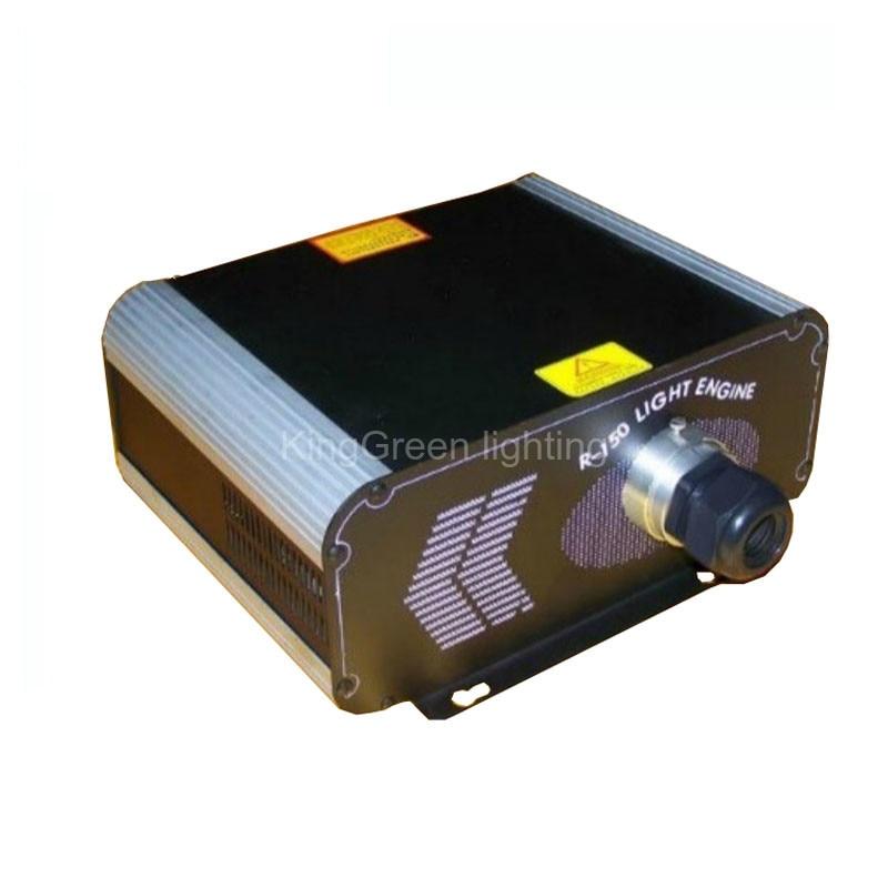 1x DMX512 сигнала 150 Вт RGB галогенная лампа Оптическое волокно свет двигателя 220 В вход для всех видов волоконно-оптических Бесплатная доставка ...