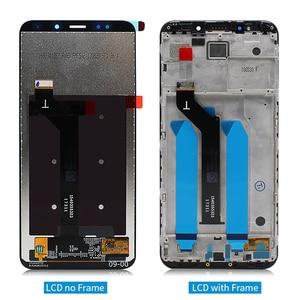 Image 3 - Voor Xiaomi Redmi 5 Plus Lcd Touch Screen Digitizer Vergadering Met Frame Vervanging Reparatie Onderdelen Met Gift