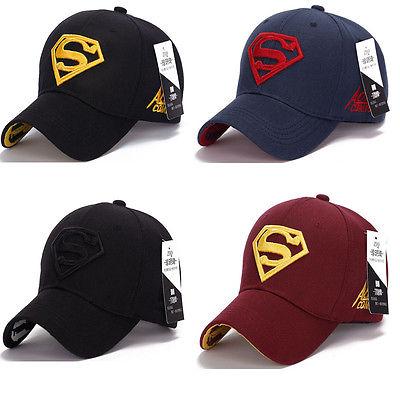 Sports-Hats Superman-Cap Baseball Superhero Trucker Golf Dc Comics New-Fashion Adjustable