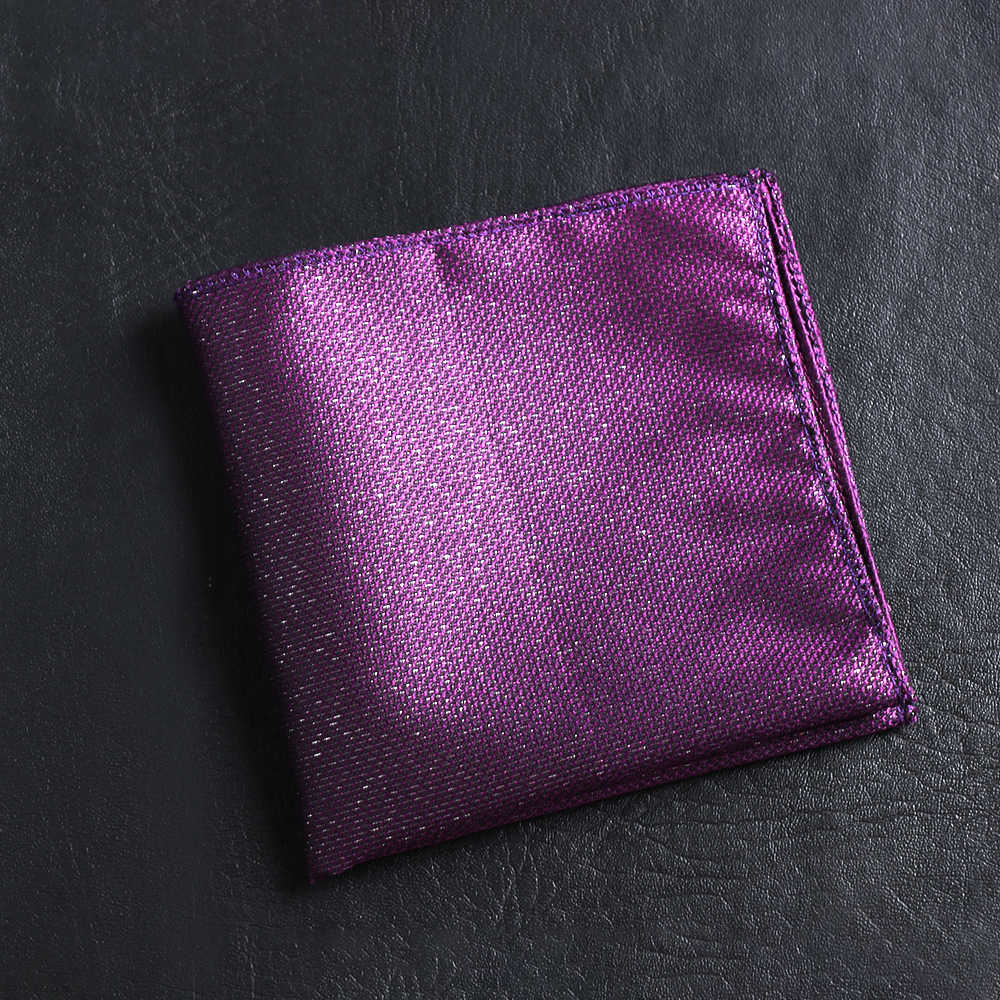 23*23cm Vintage Satin broderie Paisley pour hommes d'affaires mouchoir poche carré Floral poitrine serviette Hankies costume accessoires