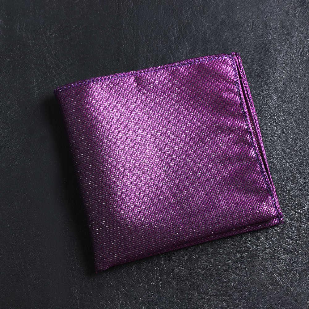 ホット男性ビジネスヴィンテージサテン刺繍ペイズリーハンカチポケット正方形の花柄胸タオル Hankies スーツアクセサリー 23*23 センチメートル