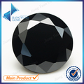 1000pcs AAAAA+ 1~2.7mm CZ Stone Round Cut Black Color Cubic Zirconia Synthetic Gems For Jewelry
