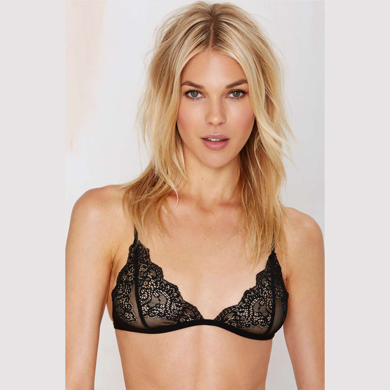 Aliexpress.com : Buy Sexy Top lace Bra Wireless Cup Brassiere Cute ...