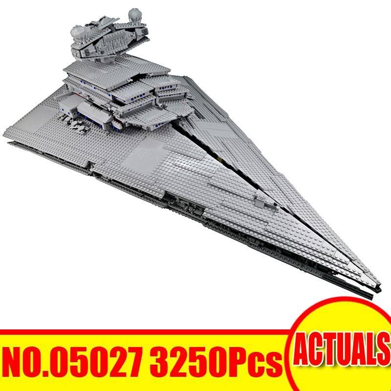 все цены на Lepin All Star Wars Figure 05027 05132 Building Blocks Bricks Millennium Falcon Imperial Star Destroyer Set Model Boy Toys Gift онлайн