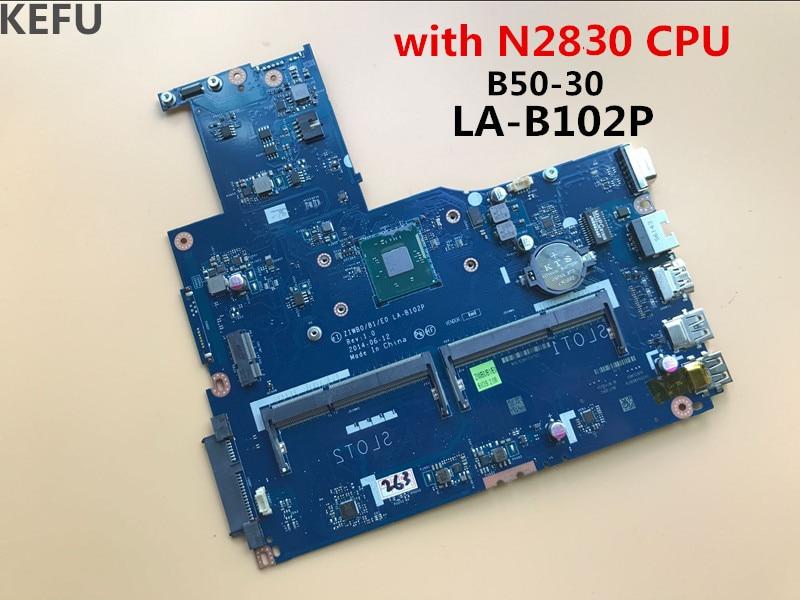 KEFU livraison gratuite ZIWB0/B1/E0 LA B102P pour Lenovo B50 30 avec n2830 cpu carte mère 100% de travail-in Cartes mères from Ordinateur et bureautique on AliExpress - 11.11_Double 11_Singles' Day 1