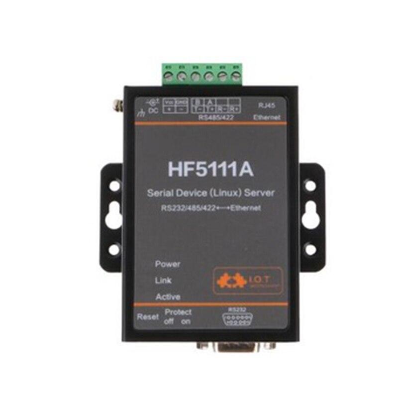 Original HF5111A série RS232 RS422 RS485 RS485 à Linux serveur série Ethernet convertisseur Module prise en charge TCP