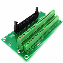 IDC50 2×25 Pins 0.1″ Male Header Breakout Board, Terminal Block, Connector.