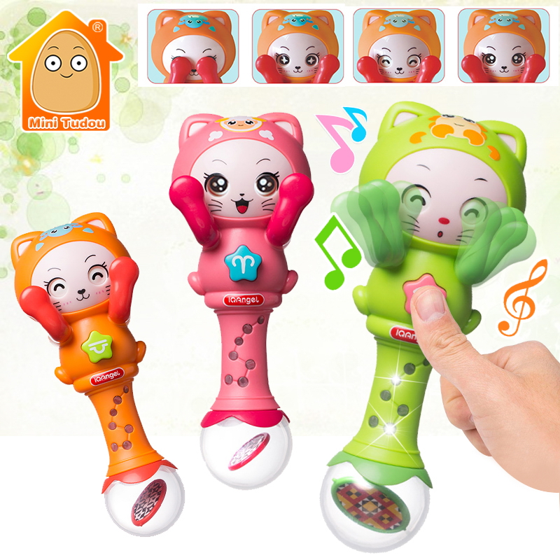 Baby Musical Rattle Handbells Baby Hand Bells Toy For 0-12 Months Children Newborns Early Educational Toys For Kids