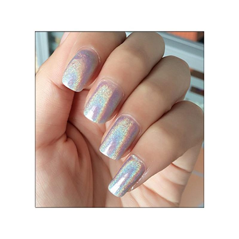 Laser Silver Shiny Nail Glitter Powder5