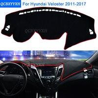 Car Styling Dashboard Protective Mat Shade Cushion Photophobism Pad Interior Carpet For Hyundai Veloster 2011 2017