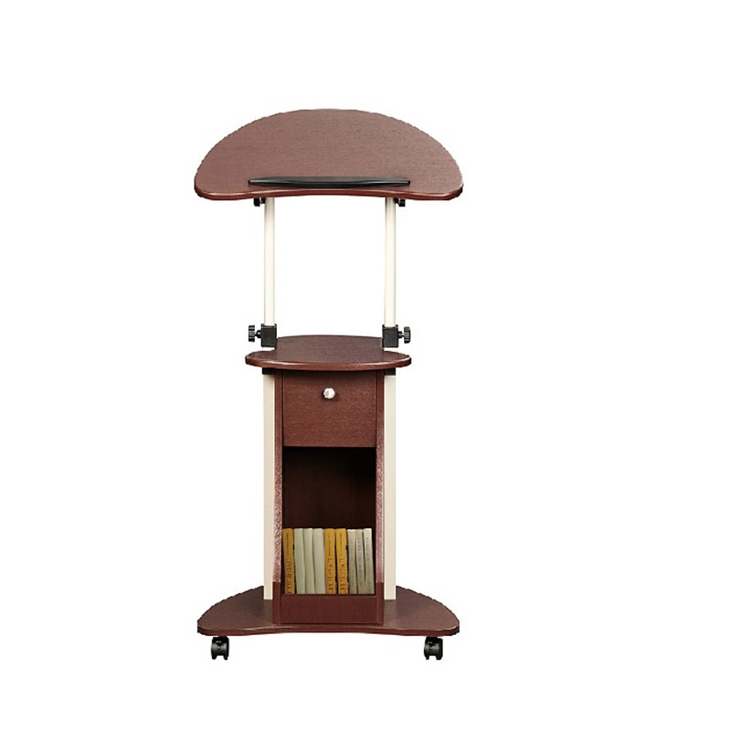 DG#7285 Scarlett station comter mobile vertical conference podium lifting desk notebook bedside table FREE SHIPPING bsdt and one hundred million to reach the notebook comter office desktop home simple mobile learning desk free shipping