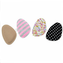 100 Pairs Sponge Gel Silicone Shoe pad Insoles women's high heel Cushion Protect Comfy Feet Palm Care Pads accessories